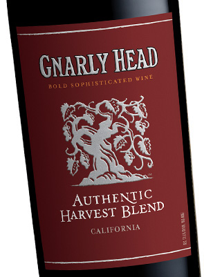 gnarly headbrharvest red authentic oak red wine